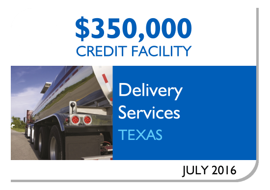 Amerisource Provides $350,000 Credit Facility