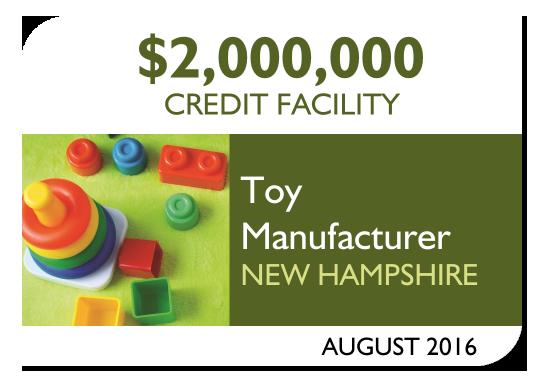 Amerisource Provides $2,000,000 Credit Facility