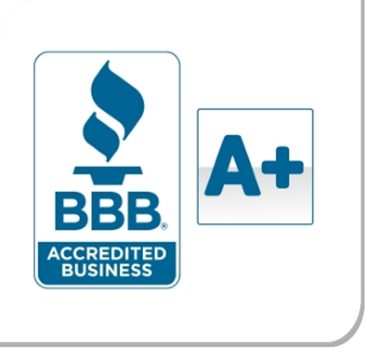 Amerisource Award - Accredited Better Business Bureau A+ Rating