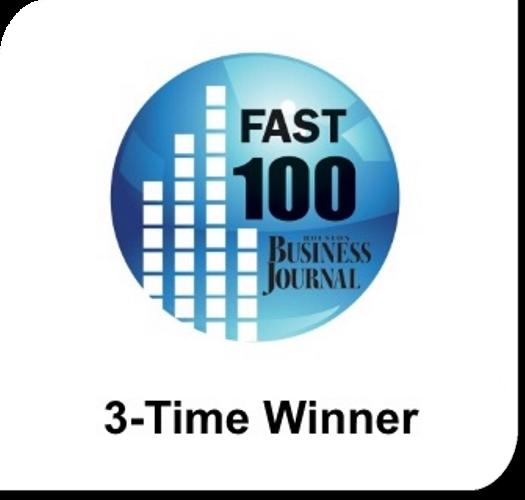 Amerisource Award - Houston Business Journal's Fast 100